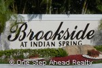 sign for Brookside
