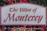 sign for The Villas of Monterey