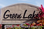 sign for Green Lakes