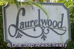 sign for Laurelwood