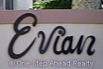 sign for Evian