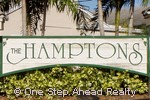 sign for The Hamptons