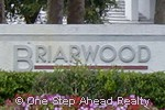 sign for Briarwood