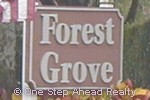 sign for Forest Grove