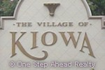 sign for The Village of Kiowa