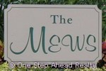 sign for The Mews