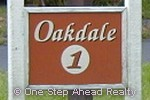 sign for Oakdale